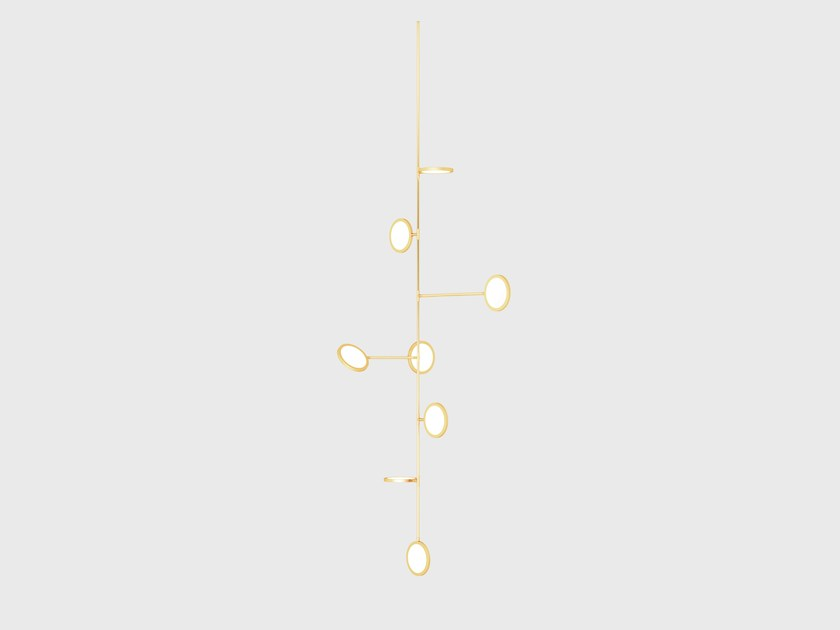 Pendant lamp DISCUS VINE 8 by Matter Made
