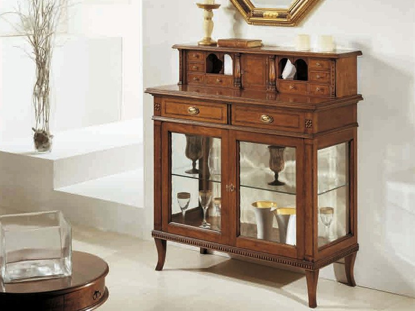Solid wood display cabinet GIGLIO | Display cabinet by Arvestyle
