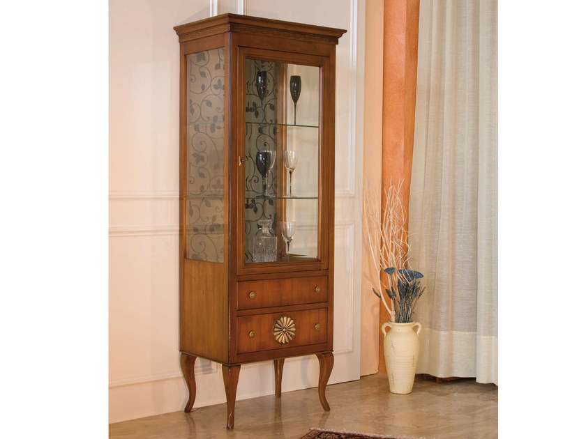 Solid wood display cabinet MILLY | Display cabinet - Arvestyle