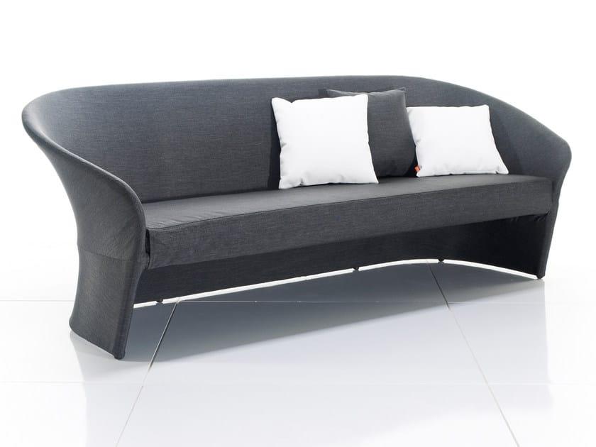3 seater fabric garden sofa DIVA | 3 seater sofa - solpuri