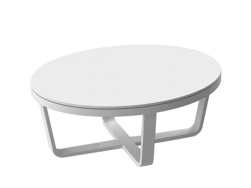 Lacquered garden side table DIVA | Coffee table - solpuri
