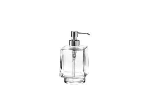 Glass liquid soap dispenser DIVO | Liquid soap dispenser - INDA®