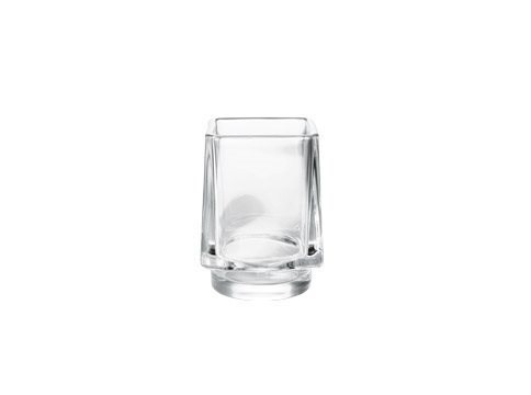 Portaspazzolino in vetro DIVO | Portaspazzolino - INDA®