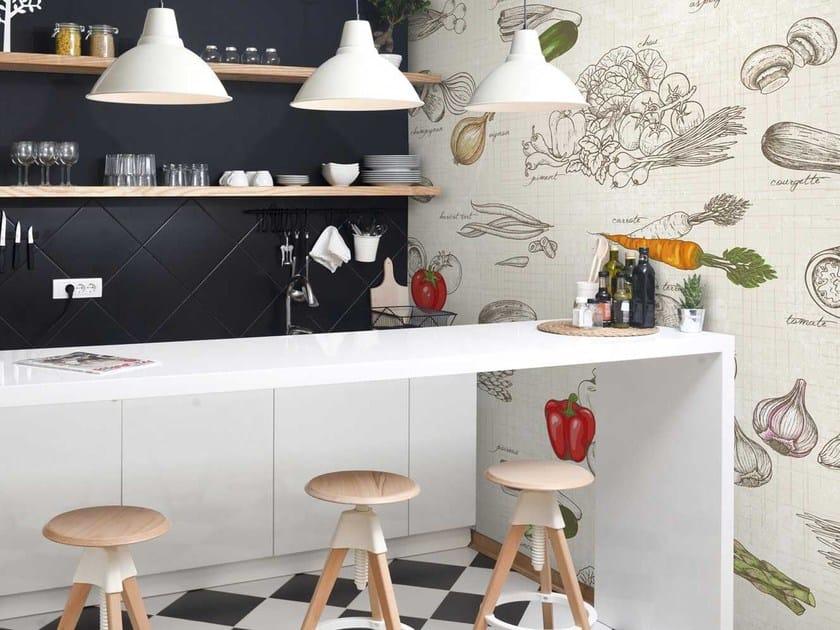 Washable panoramic non-woven paper wallpaper DL-PRIMEUR - LGD01