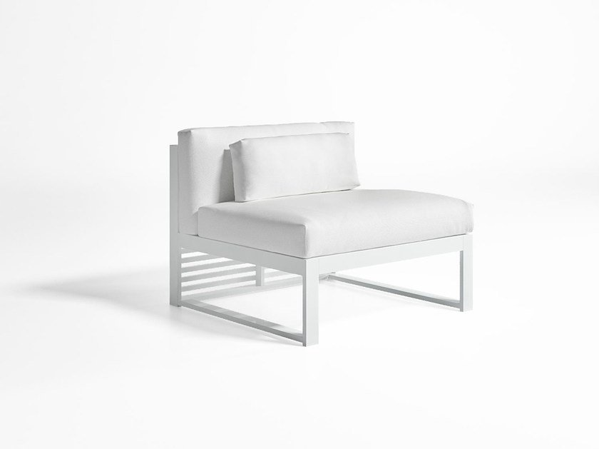 Sectional guest chair DNA 3 by GANDIA BLASCO