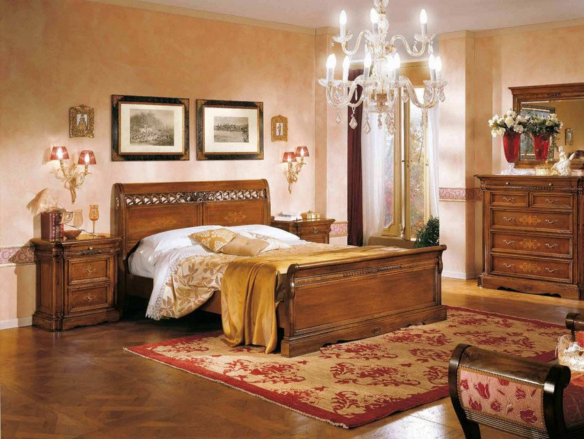 Solid wood double bed DOGI | Solid wood bed by Arvestyle