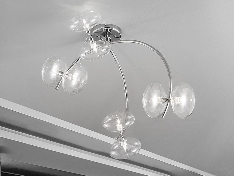 Metal ceiling lamp DOLCE L 60 by Metal Lux