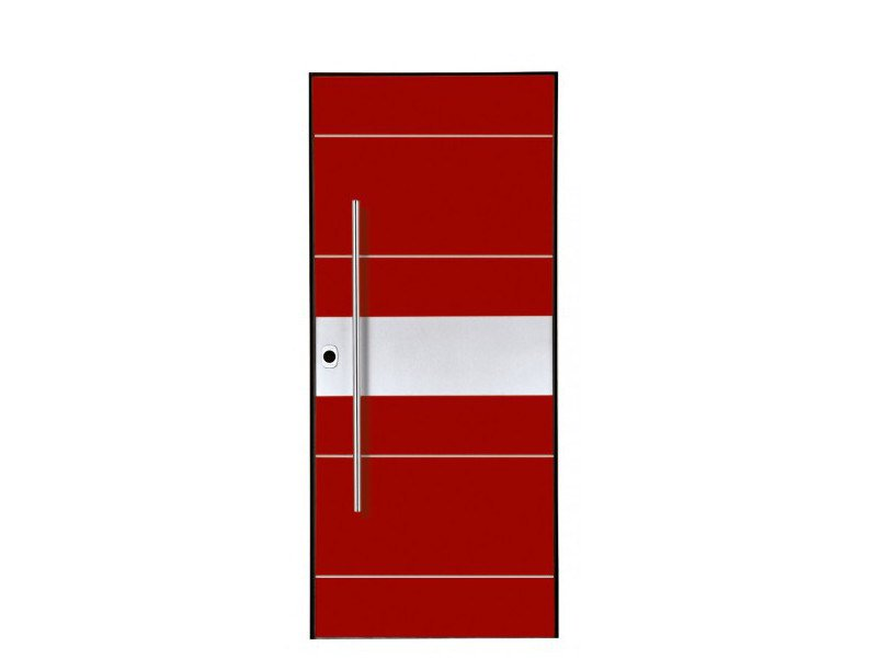 Door panel for outdoor use DOLOMIA ELMO 2 - Metalnova