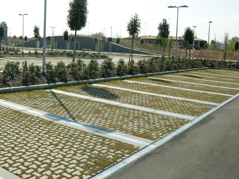 Concrete paving block DOLOMITI by RECORD - BAGATTINI