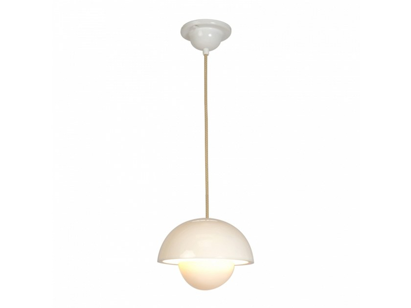 Porcelain pendant lamp with dimmer DOMA SMALL - Original BTC