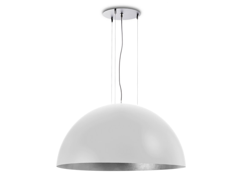 Metal pendant lamp DOME 800 WS by Hind Rabii