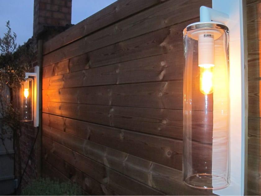 Lampada da parete a luce diretta in alluminio DOME WALL by ROYAL BOTANIA