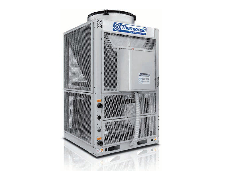 Modular air/water chillers and heat pumps unit DOMINO by Thermocold