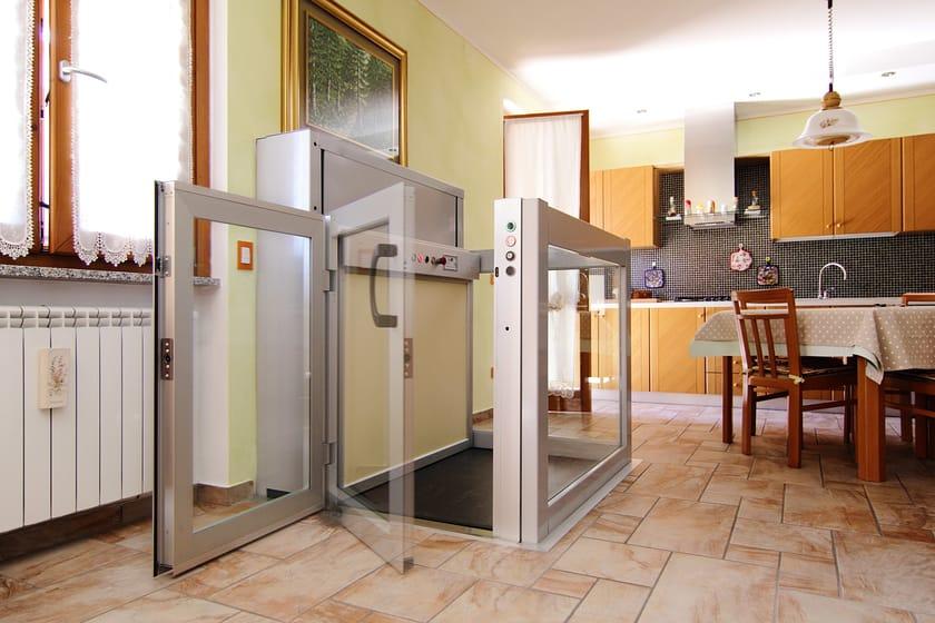 Domoflex miniascensore elettrico a vite senza fine for Mini case italia prezzi