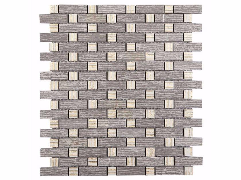 Marble mosaic BOITE - CLASSIC BOX - DOMUS - Lithos Mosaico Italia - Lithos
