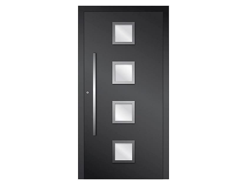 Aluminium armoured door panel DP 03 | Door panel by EKO-OKNA