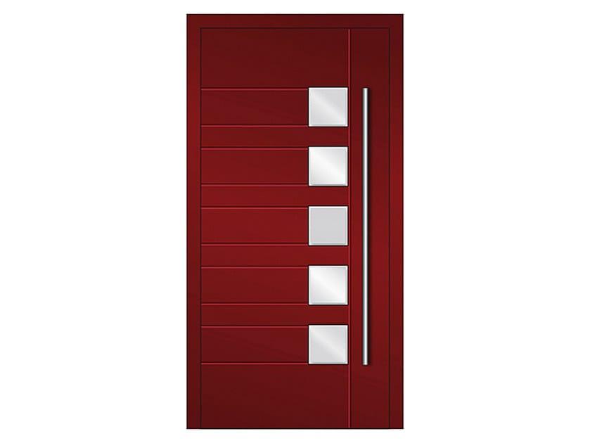 Aluminium armoured door panel DP 07 | Door panel by EKO-OKNA