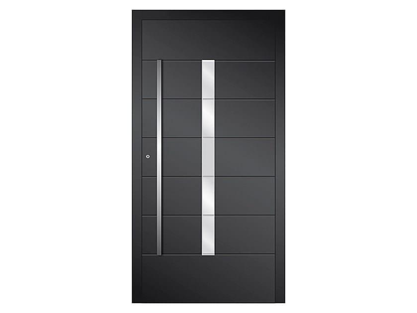 Aluminium armoured door panel DP 16 | Door panel by EKO-OKNA