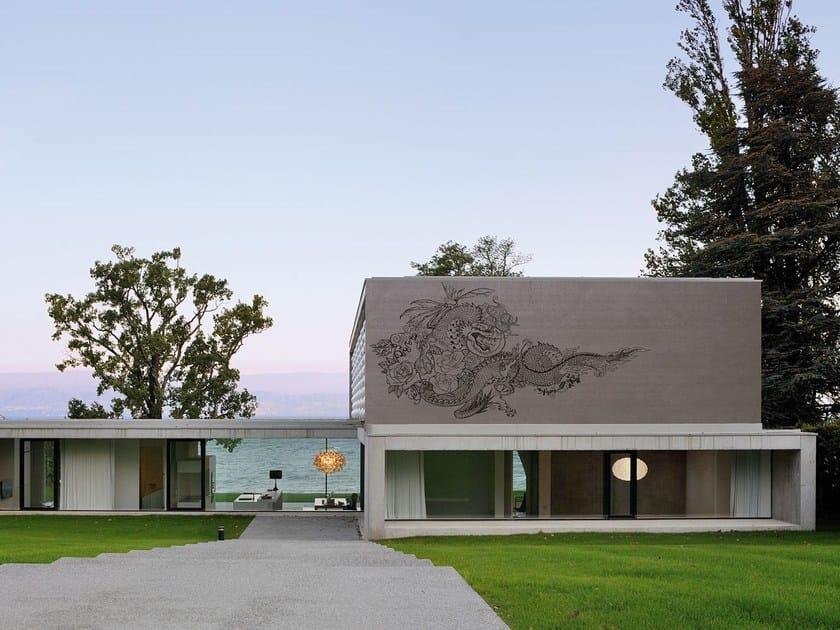 Motif outdoor wallpaper DRAGON POWER by Wall&decò