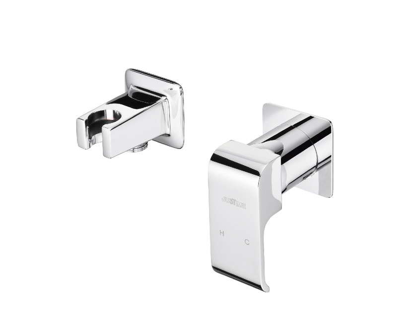 Single handle chromed brass shower mixer DRAGON | Shower mixer - JUSTIME