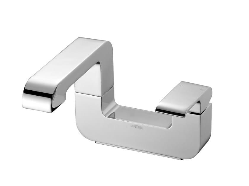 Miscelatore per vasca monoforo in ottone cromato DRAGON | Miscelatore per vasca - JUSTIME