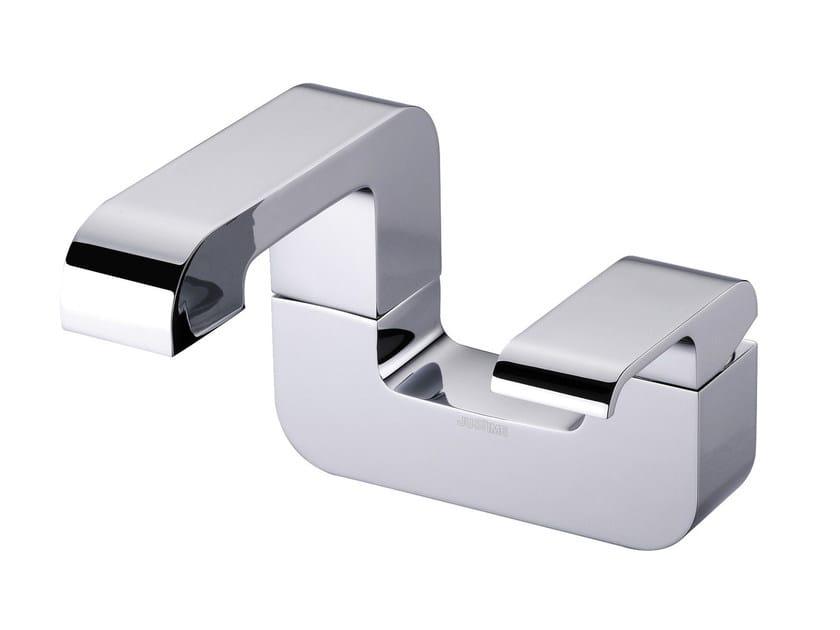 Miscelatore per lavabo da piano monocomando in ottone cromato DRAGON | Miscelatore per lavabo - JUSTIME