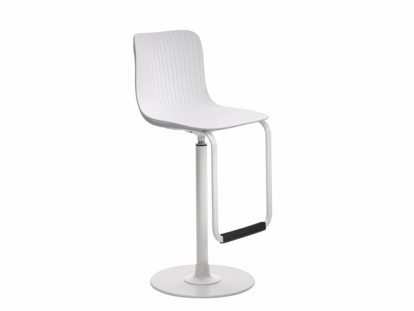 Polypropylene counter stool DRAGONFLY G0024 - Segis