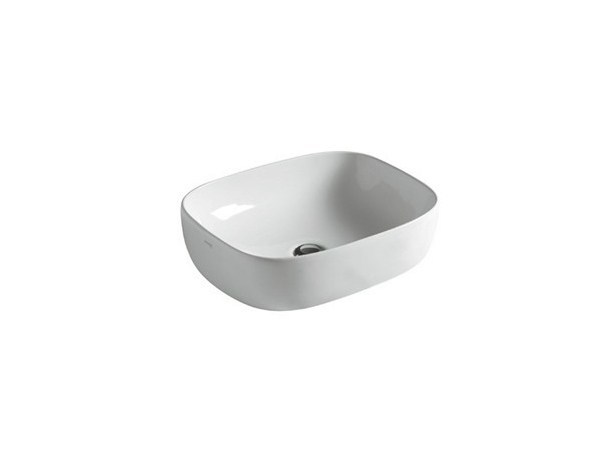 Countertop ceramic washbasin DREAM - 50 CM by GALASSIA