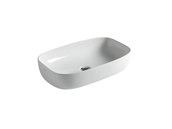 Countertop ceramic washbasin DREAM - 64 CM - GALASSIA