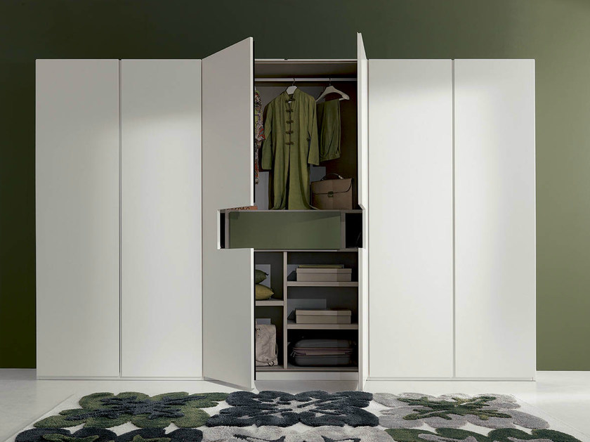 Lacquered wardrobe with built-in TV DREAM - Fimar