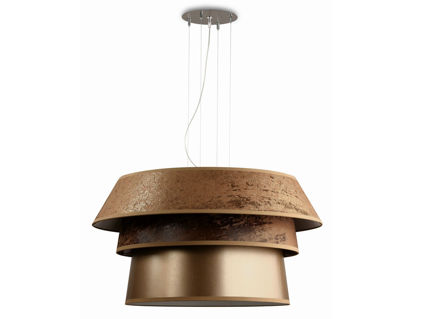 Metal pendant lamp DREAM GOLD - Hind Rabii