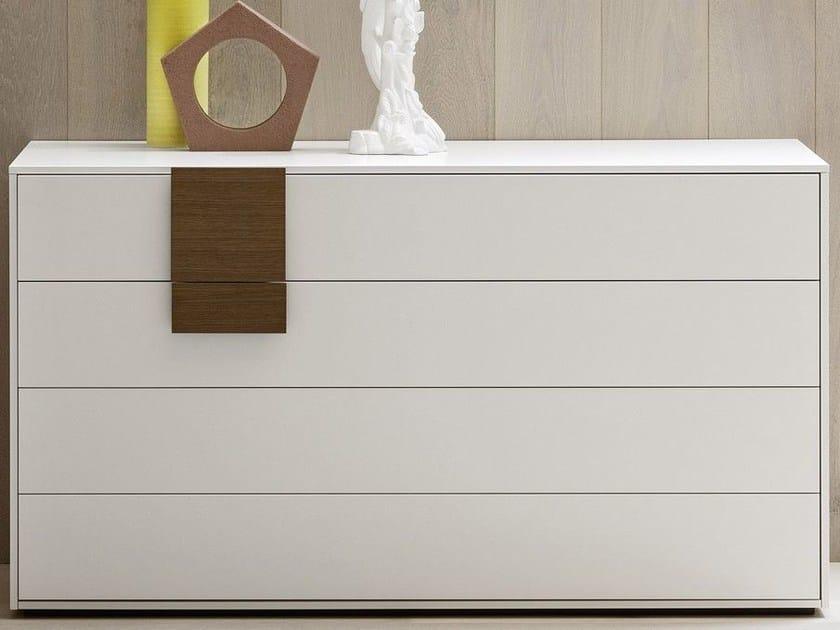 Lacquered dresser DOTTY | Dresser by Novamobili