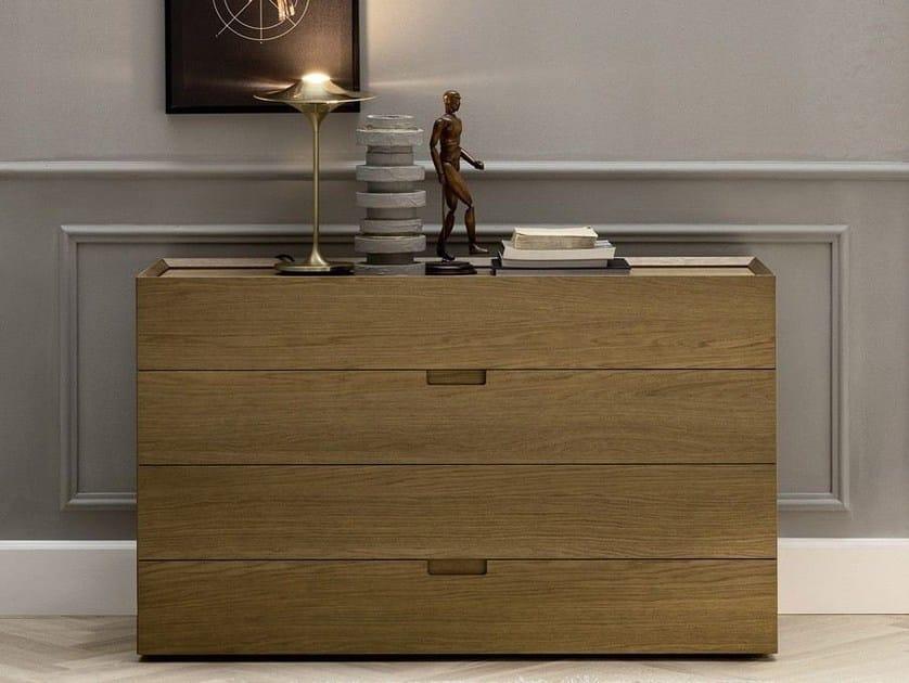 Oak dresser QUARANTACINQUE   Dresser by Novamobili