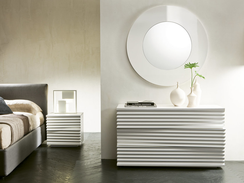 Lacquered wood fibre dresser TIFFANY | Dresser - Pacini & Cappellini