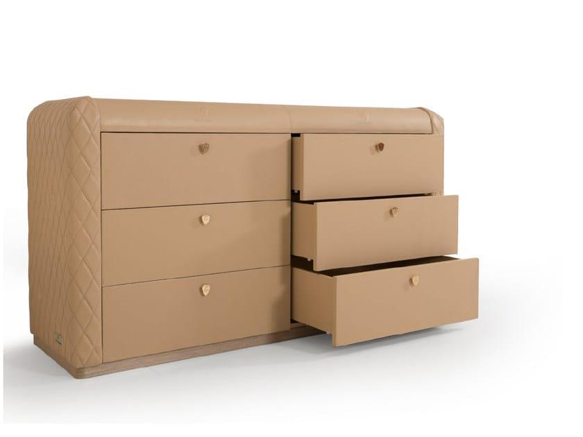 Leather dresser KYALAMI | Dresser - Tonino Lamborghini Casa by Formitalia Group