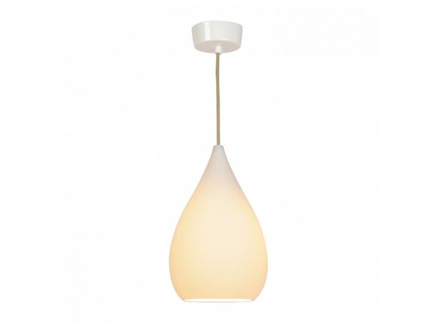 Porcelain pendant lamp with dimmer DROP ONE LARGE - Original BTC
