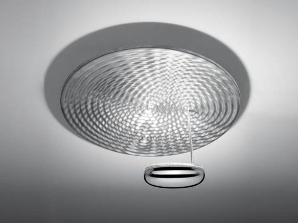 Indirect light die cast aluminium ceiling lamp DROPLET MINI | Ceiling lamp by Artemide