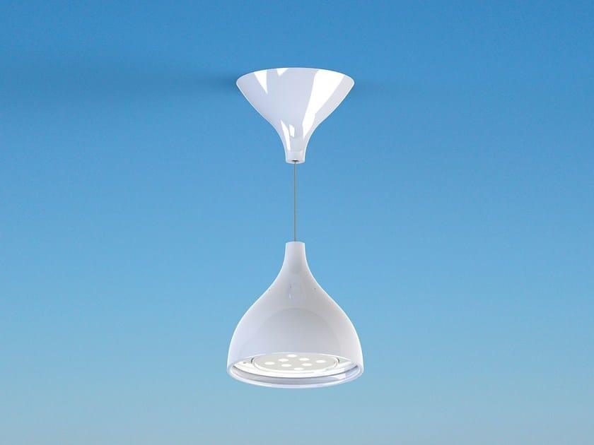 Lampada a sospensione a luce diretta in legno DROPOP | Lampada a sospensione - Masiero