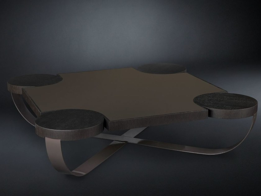 Low square oak coffee table DRUMMOND | Coffee table - VGnewtrend