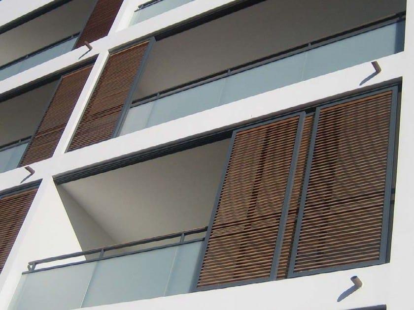 Sliding aluminium solar shading DUFIX 50OV | Solar shading by INDÚSTRIAS DURMI