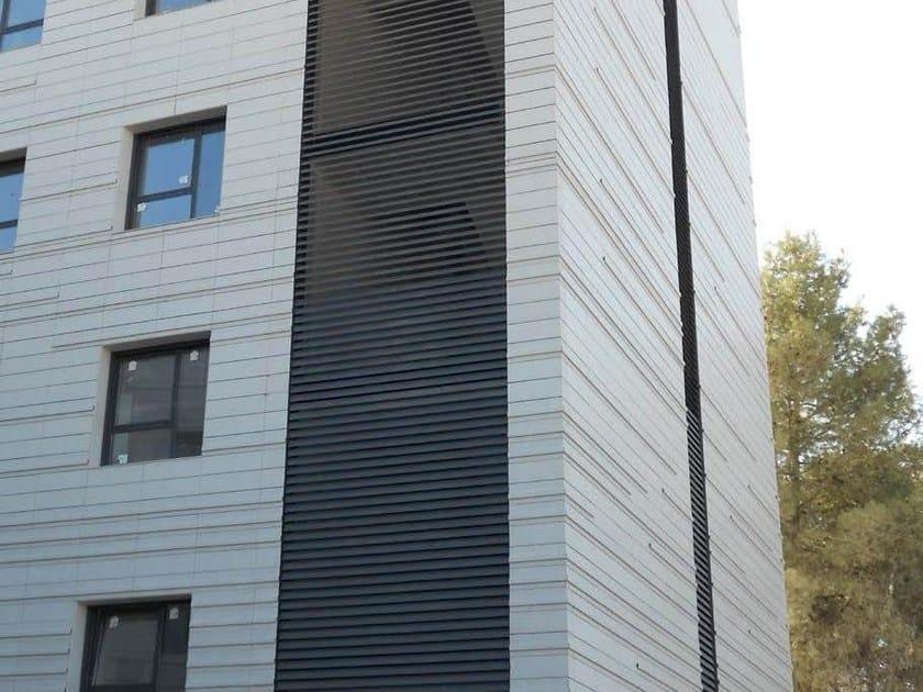 Aluminium solar shading DULINE 125E - INDÚSTRIAS DURMI
