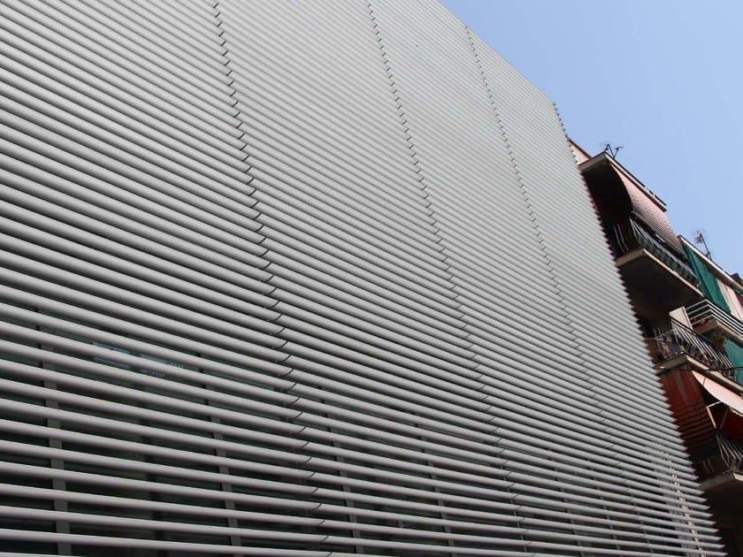 Aluminium solar shading DULINE 150E - INDÚSTRIAS DURMI