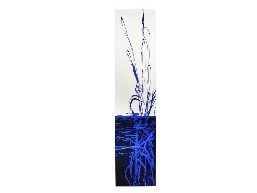 Low temperature Olycale® radiator DUNE BLEUE - CINIER Radiateurs Contemporains