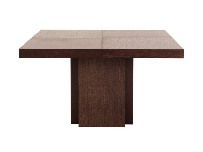 Square dining table DUSK   Square table by TemaHome