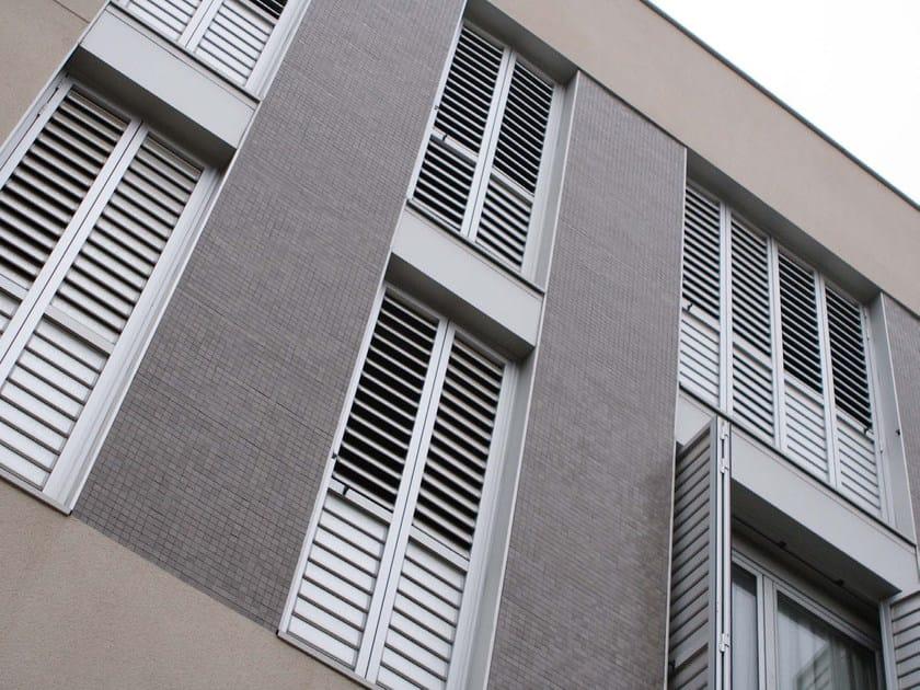 Extruded aluminium shutter with adjustable louvers DUTEC 110S | Shutter - INDÚSTRIAS DURMI