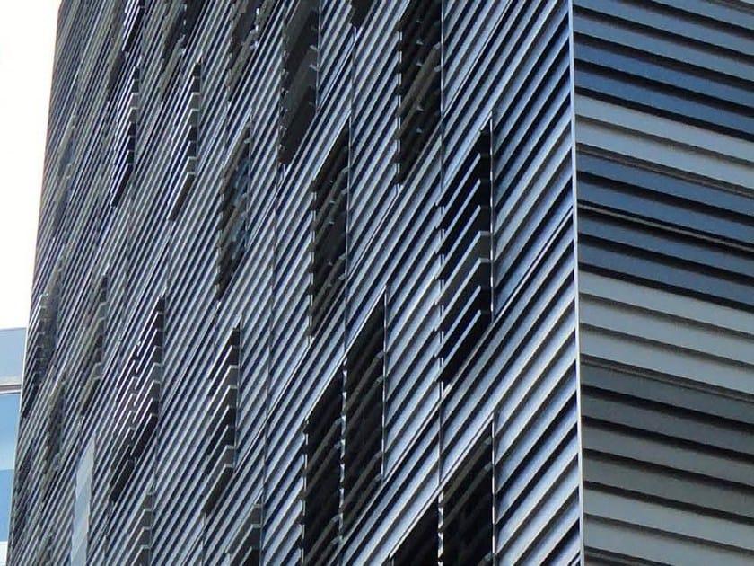 Adjustable aluminium solar shading DUTEC 200T by INDÚSTRIAS DURMI