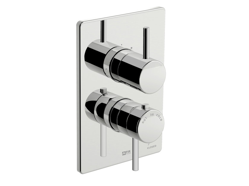 Thermostatic shower mixer with diverter DYNAMICA 88 - 8880198 by Fir Italia