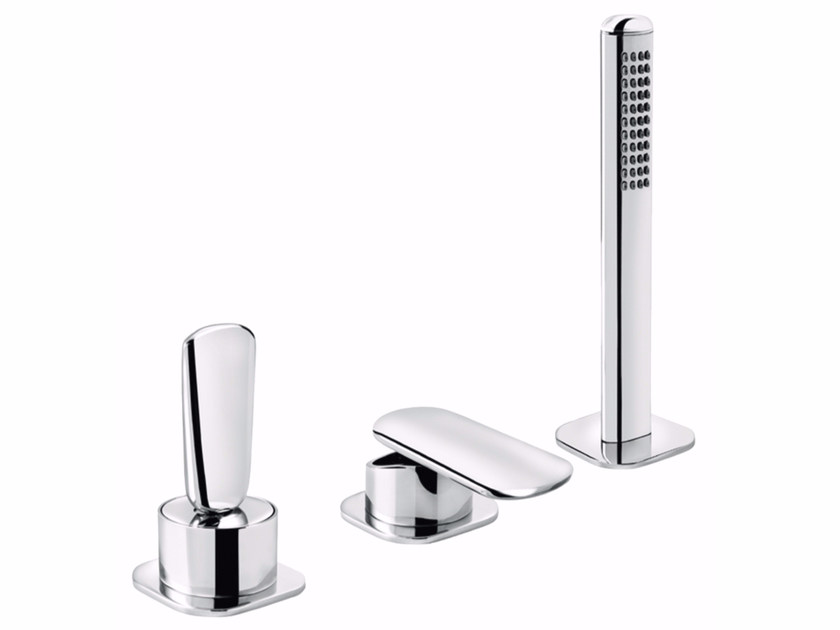 3 hole bathtub set with hand shower DYNAMICA JK 89 - 8948442 by Fir Italia