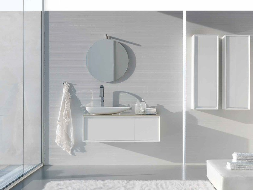 Bathroom cabinet / vanity unit E.45 COMPOSITION 2 - Arcom