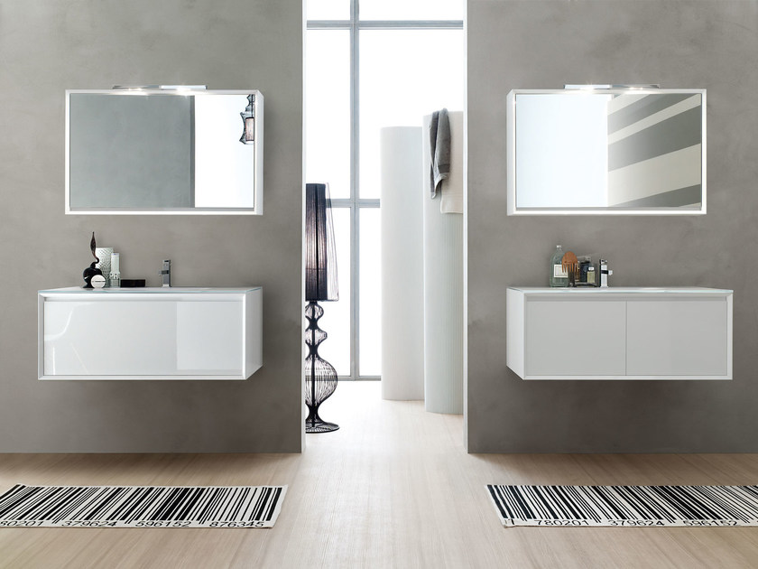 Vanity unit / mirror E.45 COMPOSITION 7 - Arcom